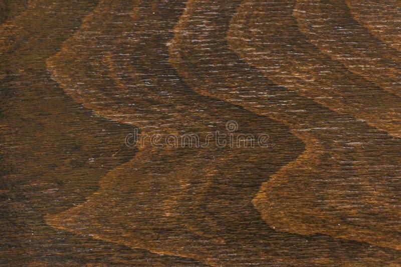 Texture en bois de brun fonc? Fond de Brown photo libre de droits