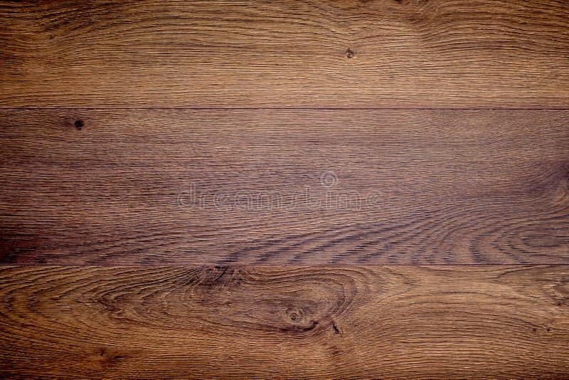 Texture en bois de chêne fond foncé pour la conception photos stock