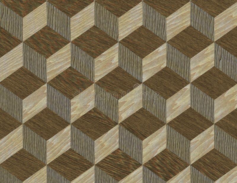Texture en bois de configuration en bois illustration libre de droits