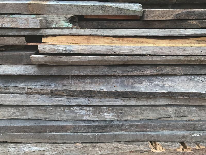 Texture en bois de couche Fond de vieux bois images stock
