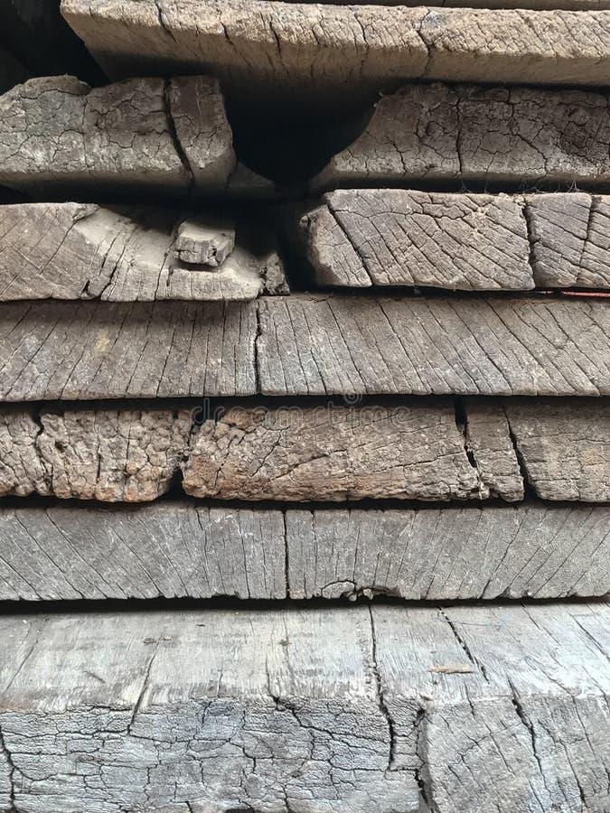 Texture en bois de couche Fond de vieux bois photographie stock libre de droits