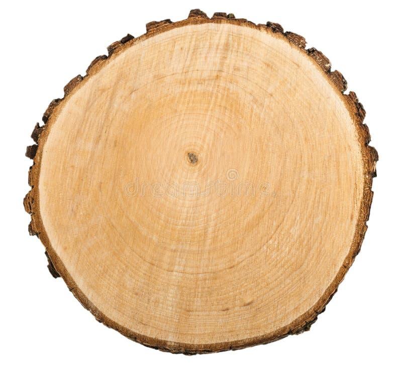 Texture en bois de coupe images stock