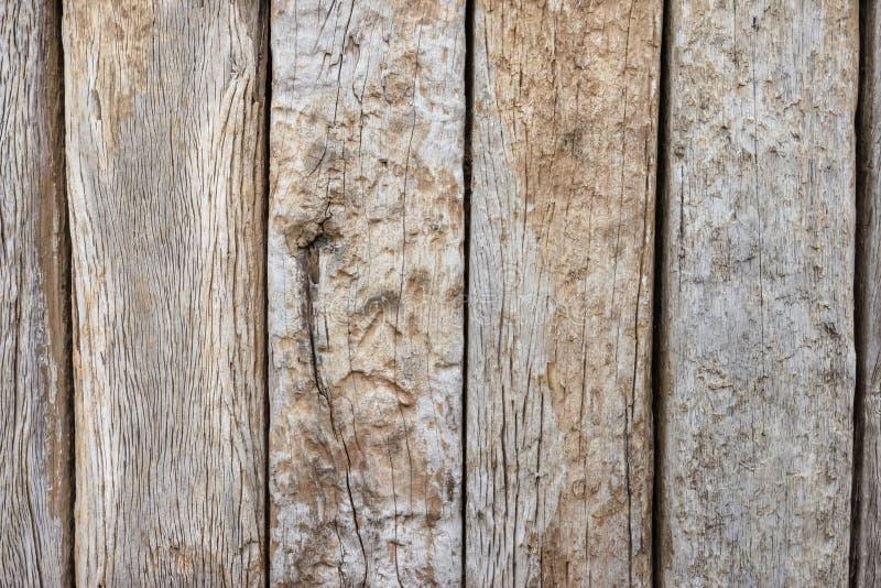 Texture en bois de fond de Brown photographie stock
