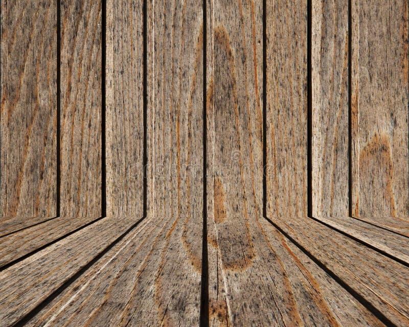 Texture en bois de fond de panneau - (Fond de plancher ou de mur) images stock