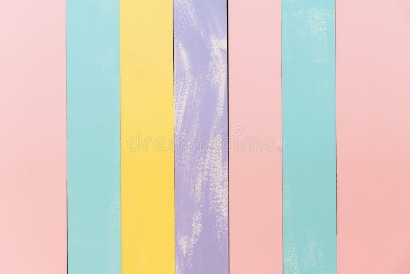 Texture en bois de fond de vieux vintage, te en bois en pastel doux de mur photographie stock libre de droits