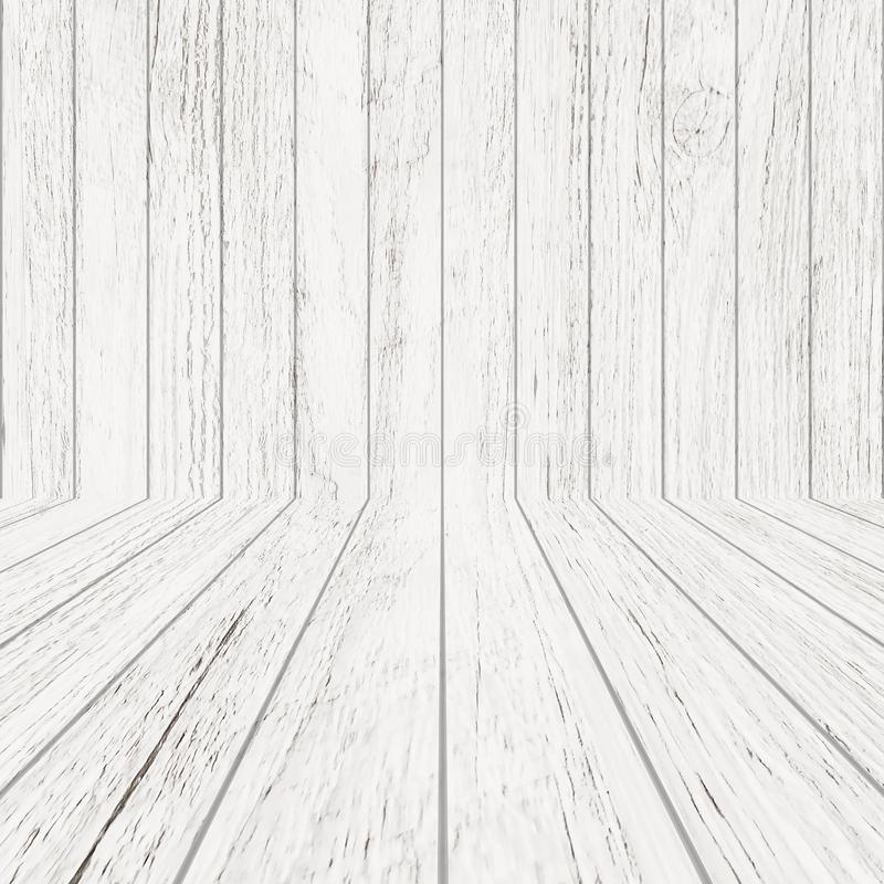 Texture en bois de mod?le de cru dans la vue de perspective pour le fond Fond en bois vide de pi?ce images libres de droits