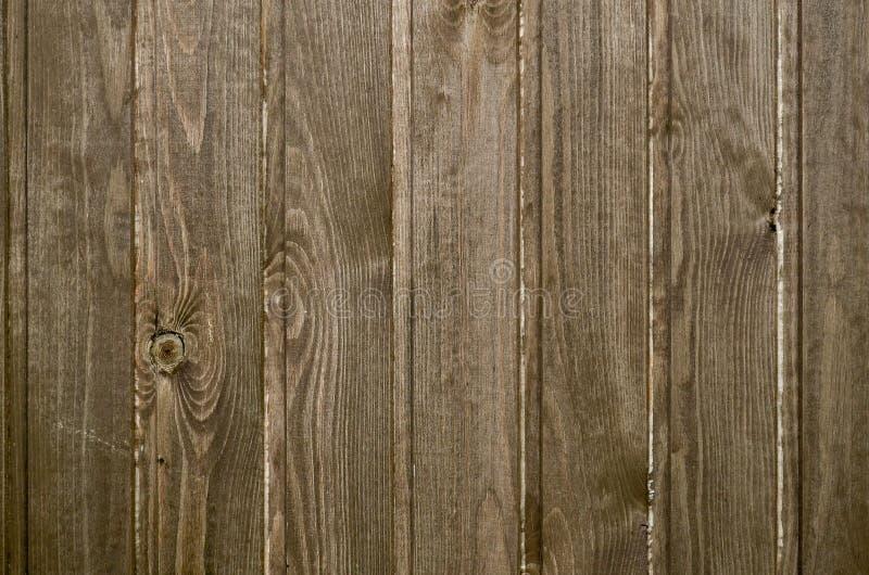 Texture en bois de planche verticalement Plancher ou mur en bois Couleur de Brown photo libre de droits