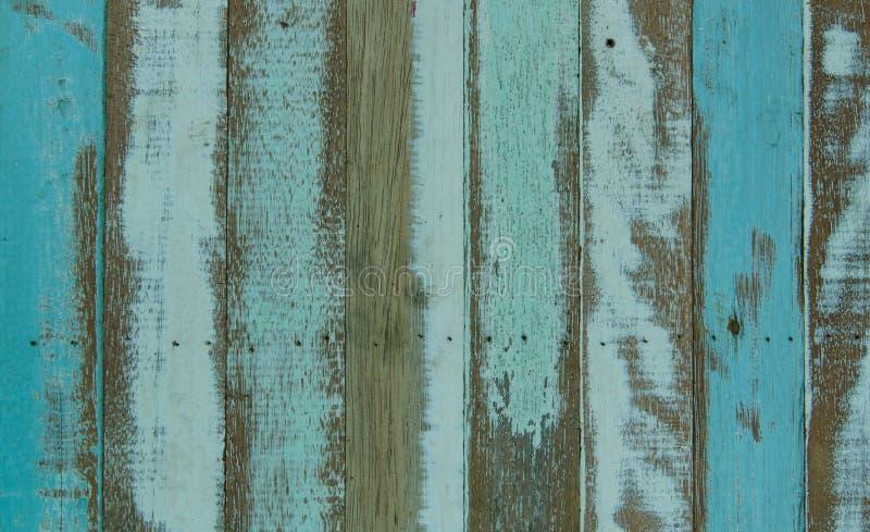 texture en bois de planches avec la peinture criquée de couleur pour le fond image stock