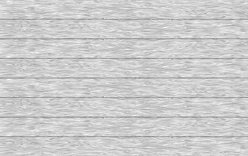 Texture en bois de planches de vecteur illustration de vecteur