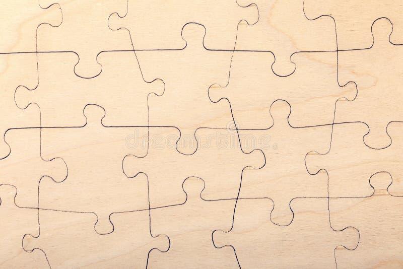 Texture en bois de puzzle denteux images libres de droits