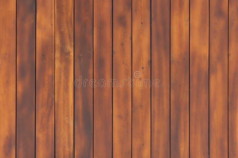 Texture en bois foncée de mur Produits naturels de fond photographie stock