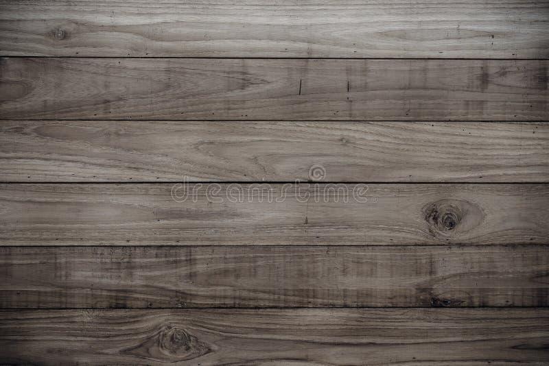Texture en bois foncée de planches photo libre de droits