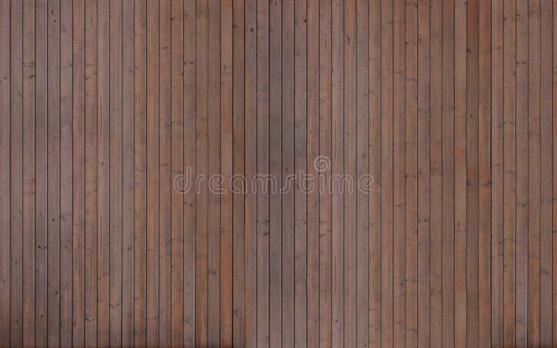 Texture en bois foncée de planches photographie stock