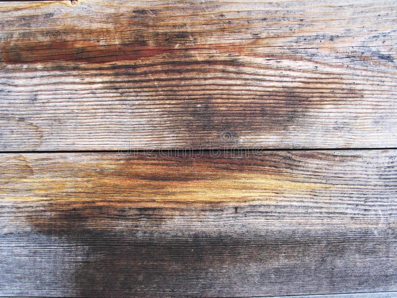 Texture en bois fonc?e Panneaux en bois fonc?s de fond vieux photos libres de droits