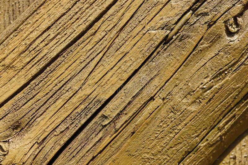 Texture en bois, fond en bois de grain de planche, bureau dans la fin de perspective, bois de construction rayé, vieux Tableau ou photographie stock libre de droits