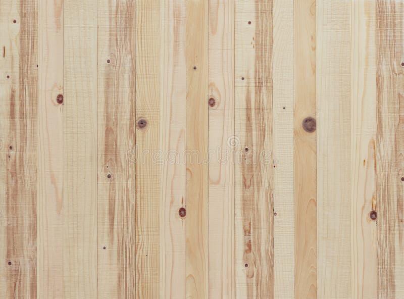Texture en bois légère de conseil images libres de droits