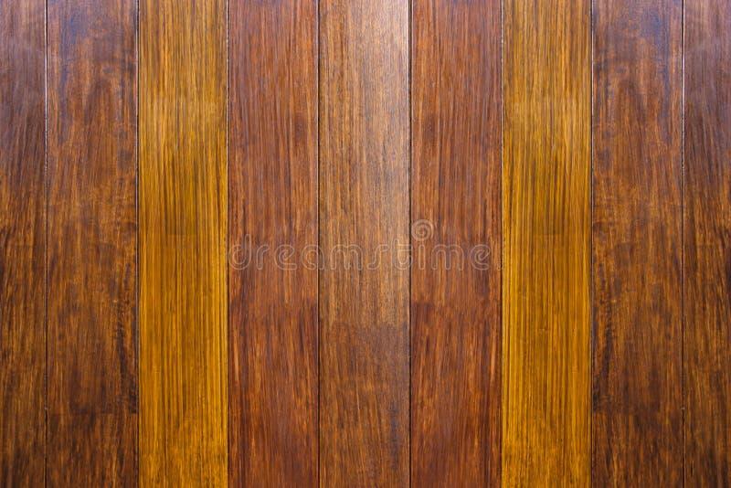 Texture en bois La surface de l'obscurité le fond en bois naturel brun pour l'intérieur et l'extérieur de décoration de conceptio images stock