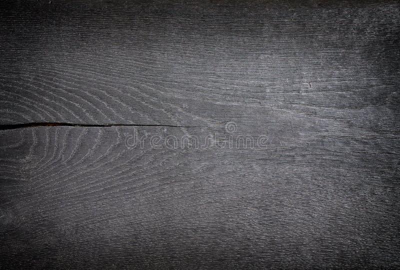 Texture en bois noire photo libre de droits