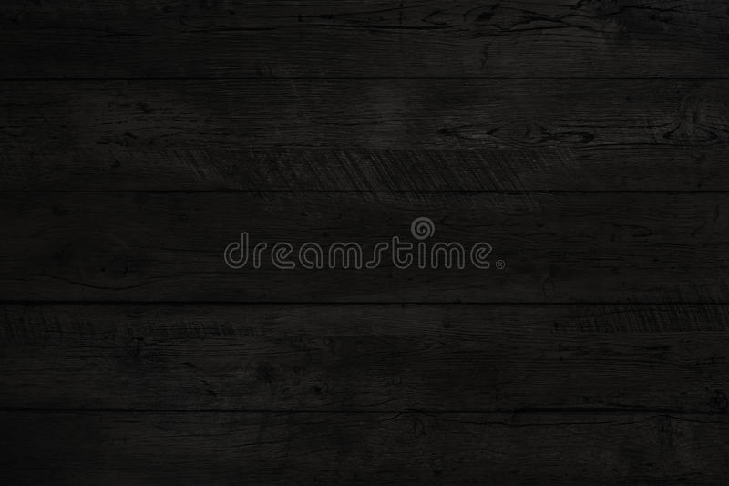 Texture en bois noire vieux panneaux de fond photos stock