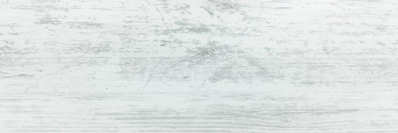 Texture en bois organique blanche Fond en bois clair Vieux bois lavé photographie stock