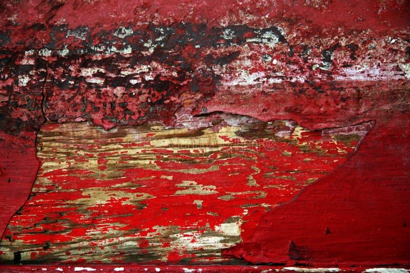 Texture en bois peinte photo libre de droits