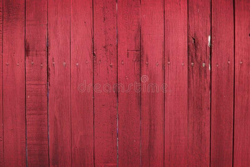 Texture en bois rouge de fond photos stock