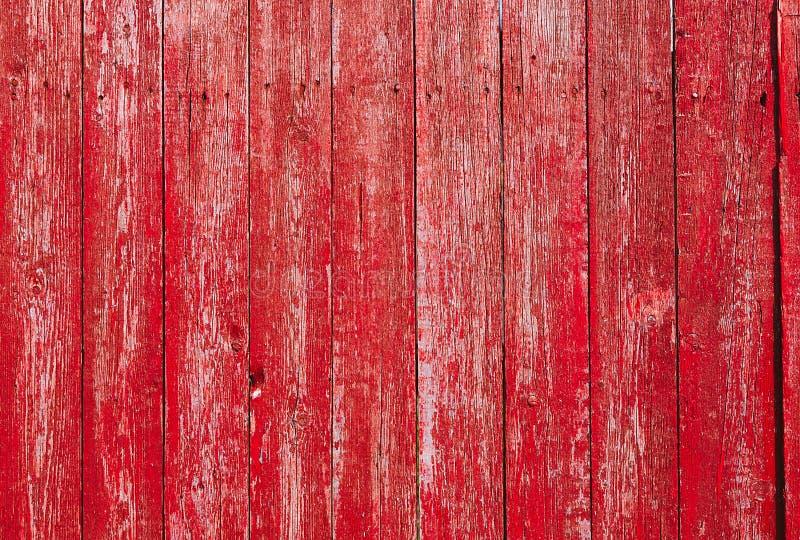Texture en bois rouge de style de vintage photographie stock libre de droits