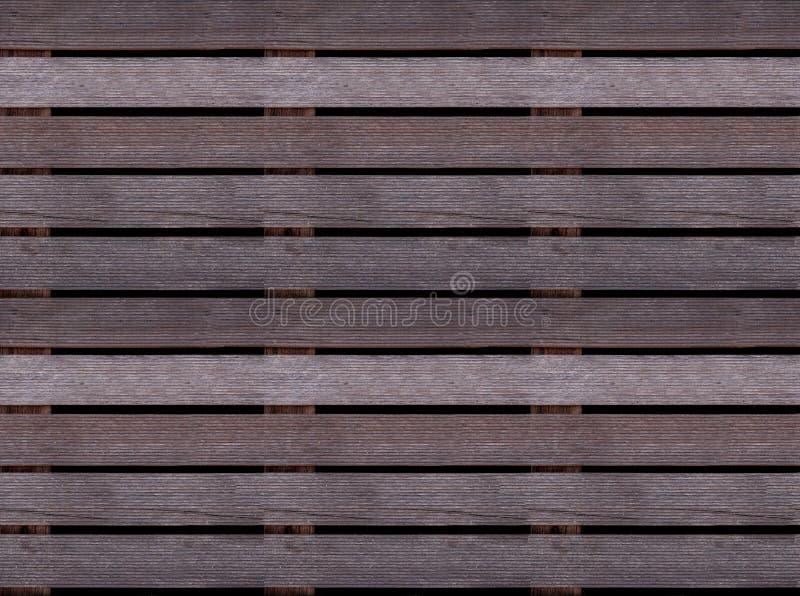 Texture en bois sans couture de plancher ou de trottoir, palette en bois photo stock