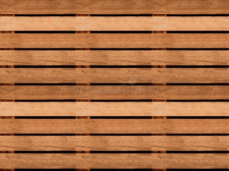 Texture en bois sans couture de plancher ou de trottoir, palette en bois image libre de droits