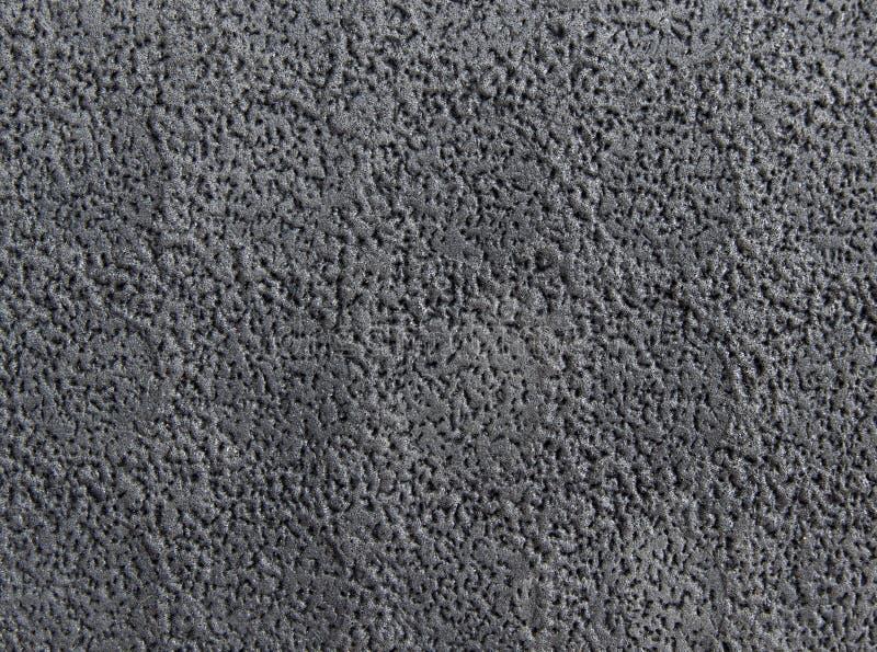 Texture en caoutchouc noire image libre de droits