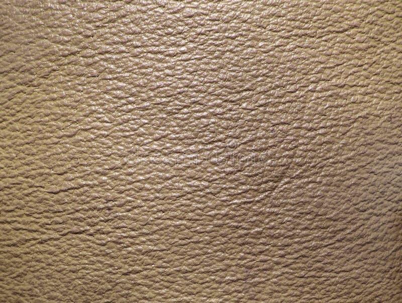 Texture en cuir beige image libre de droits