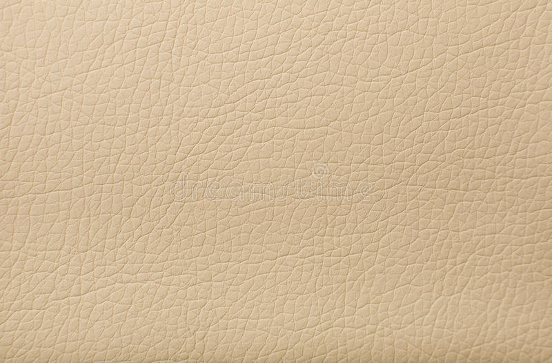 Texture en cuir beige douce avec la copie comme fond photos libres de droits
