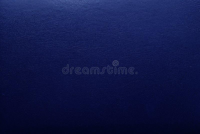 Texture en cuir bleue photo stock