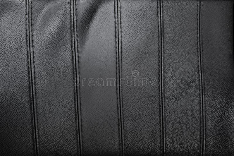 Texture en cuir déchirée par noir photo libre de droits