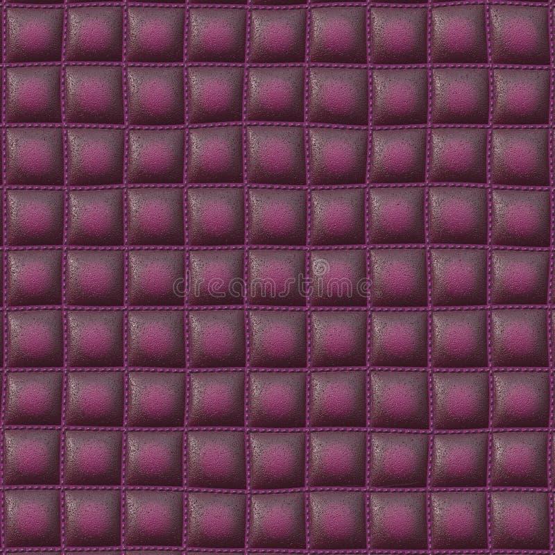 Texture en cuir de divan image stock