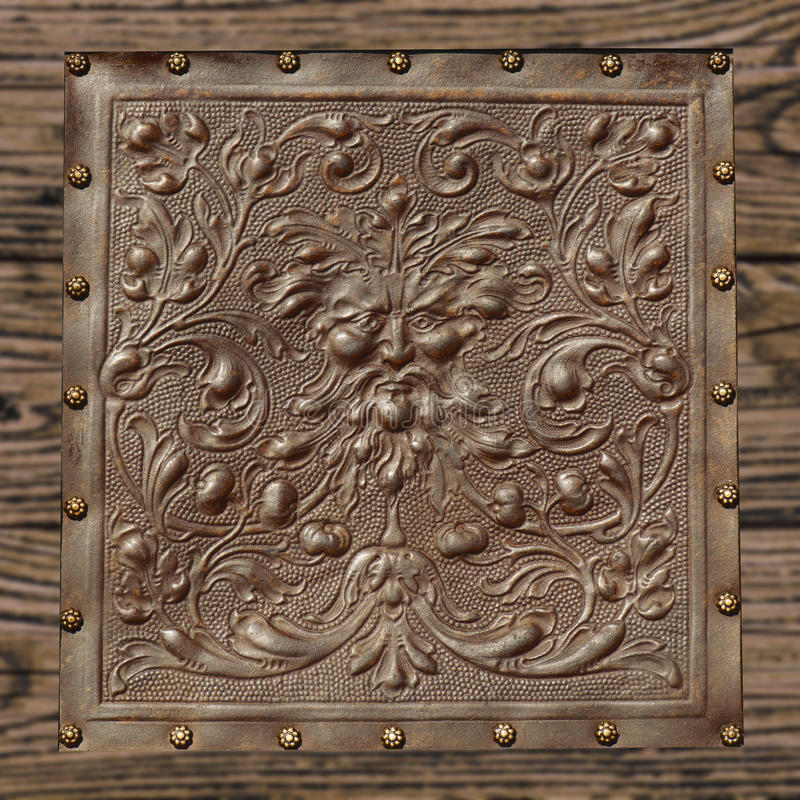 Texture en cuir de vintage image libre de droits