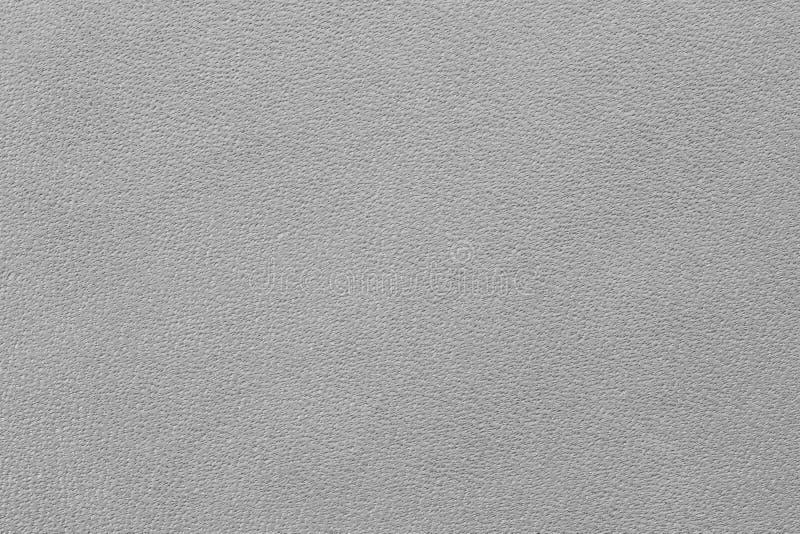 Texture en cuir gris-clair photo libre de droits