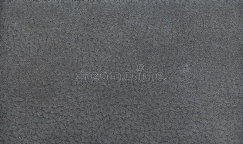Texture en cuir grise de fond photographie stock