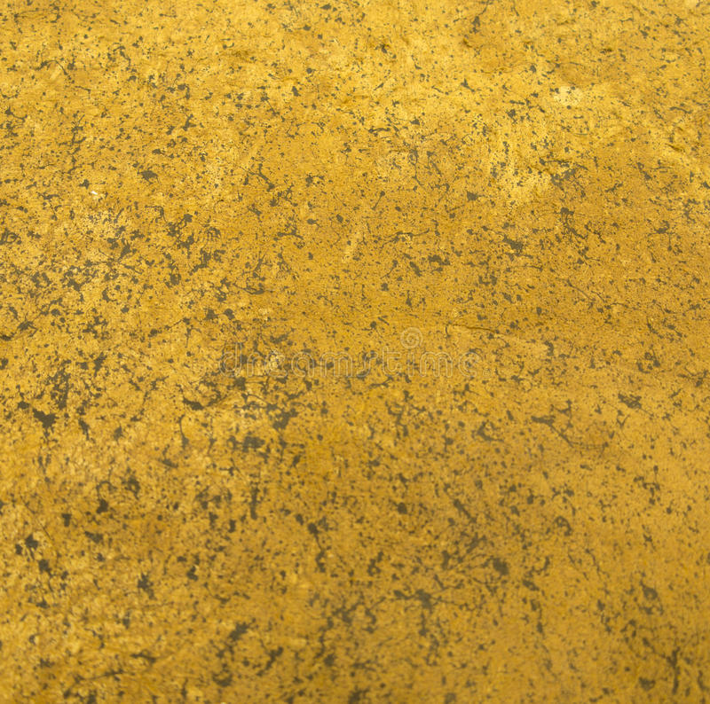 Texture en cuir lavée par acide jaune d'impression photos stock