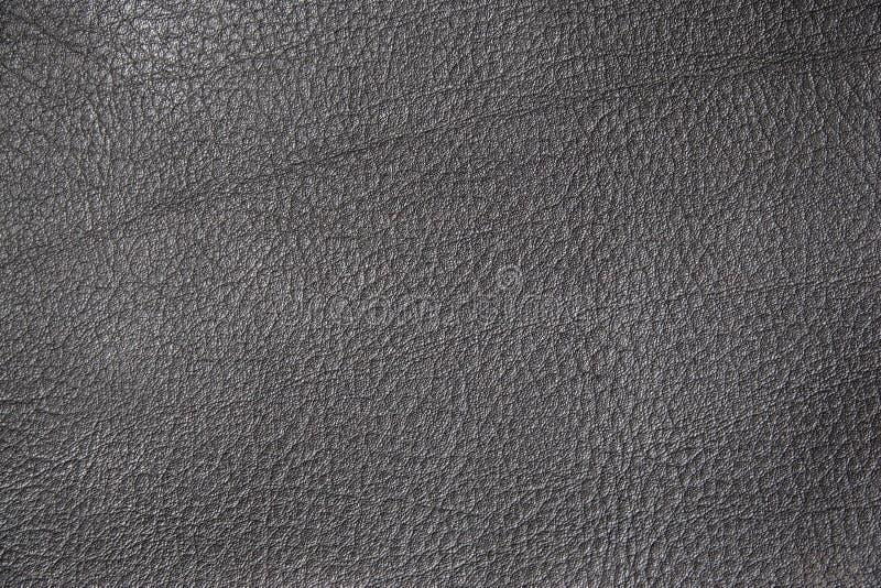Texture en cuir noire images stock