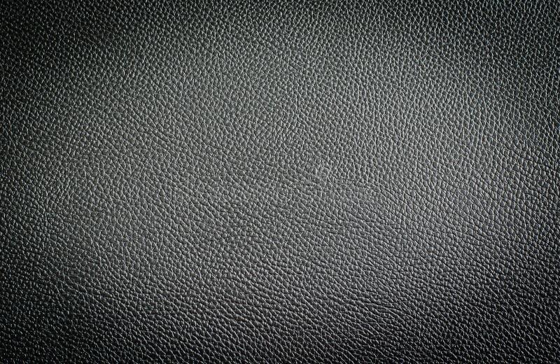 Texture en cuir noire des sièges de voiture photos stock