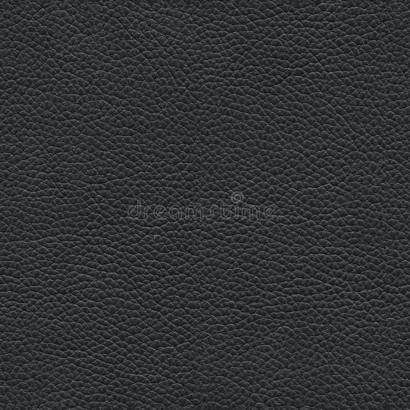 Texture en cuir noire sans joint photos libres de droits