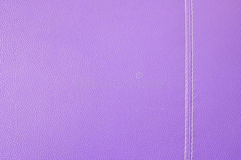 Texture en cuir pourprée photos stock