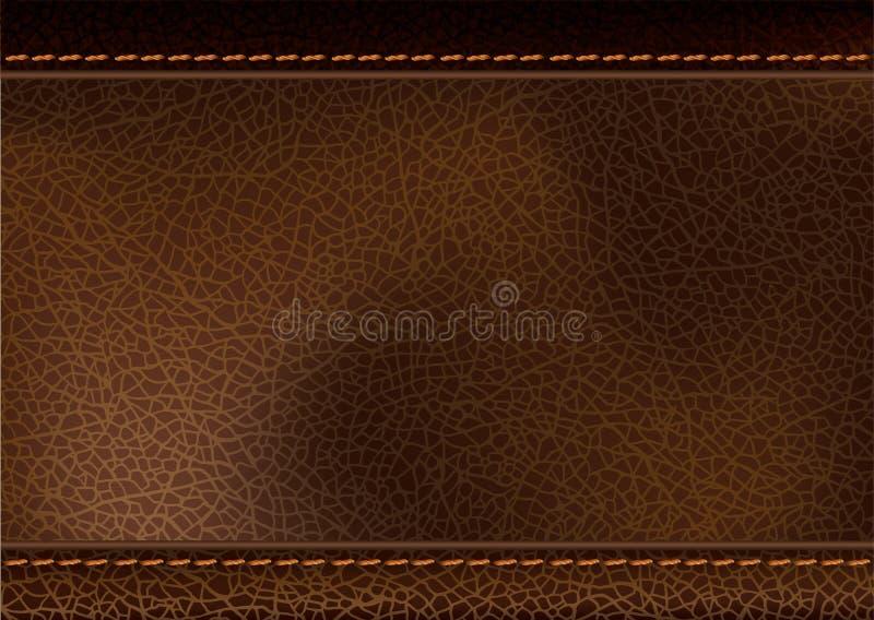 Texture en cuir r?aliste illustration libre de droits