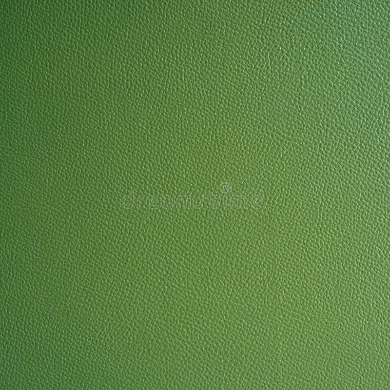 Texture en cuir verte photographie stock