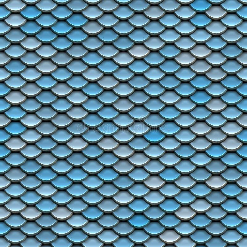 Texture en métal illustration libre de droits