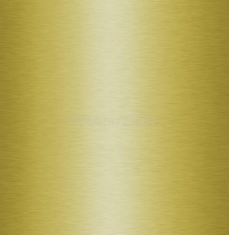 Texture en métal d'or illustration stock