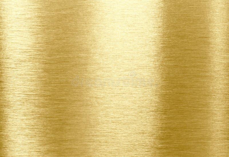 Texture en métal d'or photo stock