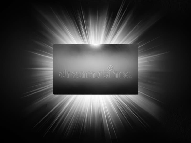 Texture en métal de présentation de la carte de visite professionnelle de visite 3d photos libres de droits