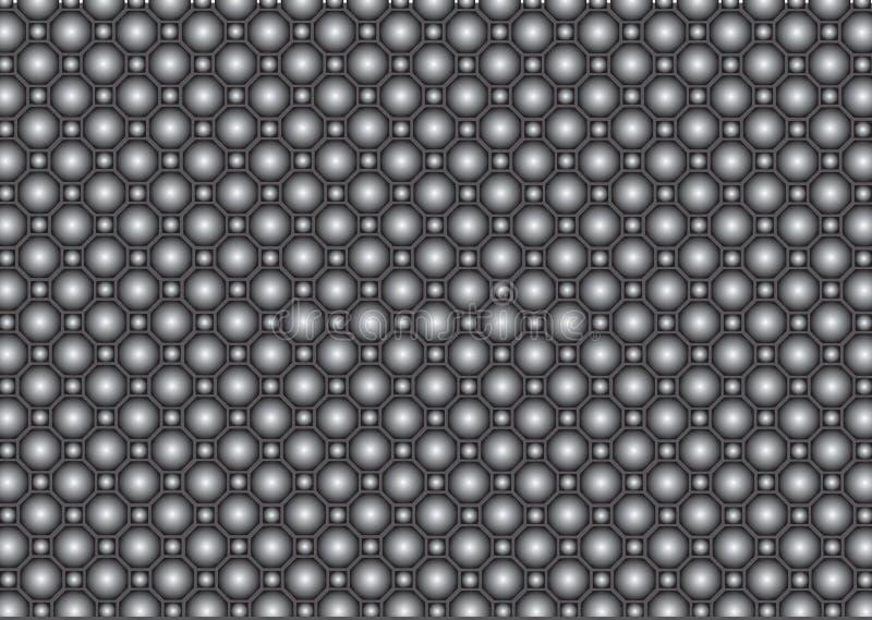 Texture en métal de vecteur illustration de vecteur